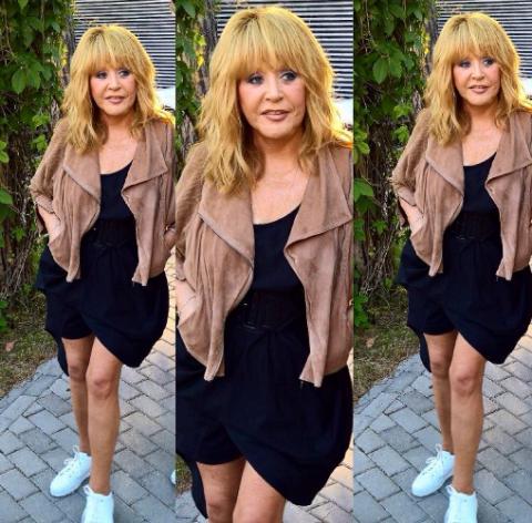 Пугачева явилась на концерт Лободы в дерзких мини-шортах