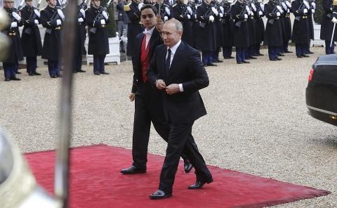«В этом смысле у нас перекликаются позиции с Францией», – Владимир Путин прокомментировал предложение президента Франции Макрона