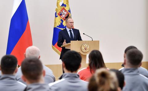 Ответ Кремля МОК: Владимир Путин нашел блестящий выход для российской сборной