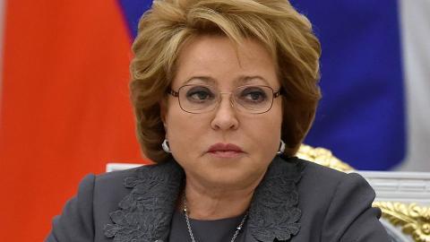 Валентина Матвиенко посетит Турцию с официальным визитом