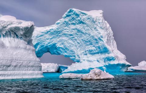 В Антарктиде найден гигантский 12-этажный корабль инопланетян, потерпевший крушение