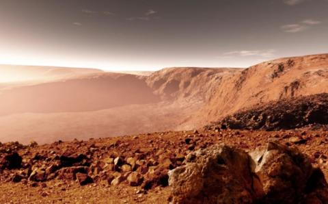 Обнаруженные на Марсе следы инопланетян взбудоражили общественность – планета усыпана оружием