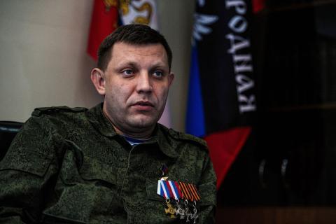 Глава ДНР обещает выйти из перемирия в случае продолжения обстрелов со стороны украинских военных