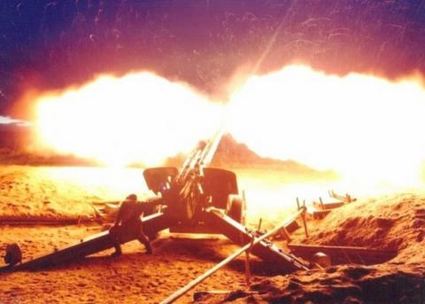Батарея гаубиц ВСУ взорвалась по неизвестным причинам в Донбассе
