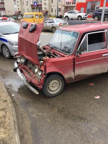 Авария с маршруткой в Ставрополе: пострадали 5 человек