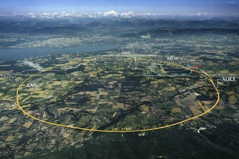 Запуск адронного коллайдера на полную мощность вызвал в Европе целый рой землетрясений