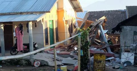 Землетрясение на Урале попало на видео –СМИ