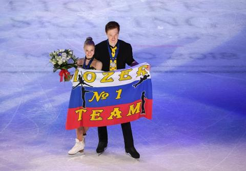 ЧМ по фигурному катанию 2018: Тарасова и Морозов взяли серебро