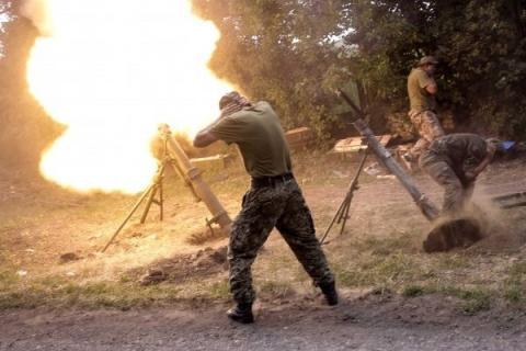 Минометчики Украины