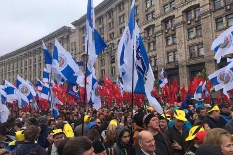 Парад в Киеве