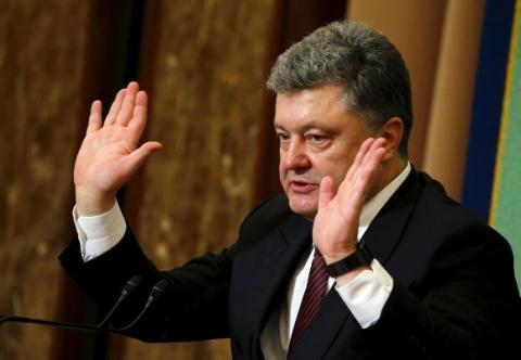 Порошенко обвиняет Россию в своей бедности