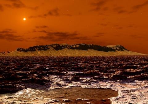 На Марсе замечены загадочные вспышки, не поддающиеся объяснению