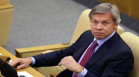 Пушков заявил, что Германия платит за улыбку и радость Порошенко от антироссийских санкций 9 миллиардов долларов в год
