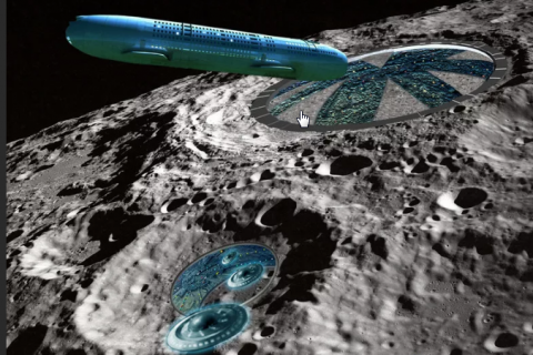 На Луне огромная военная база принадлежит инопланетянам – исследователь