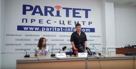 Савченко пошутила в Одессе по поводу Ростова