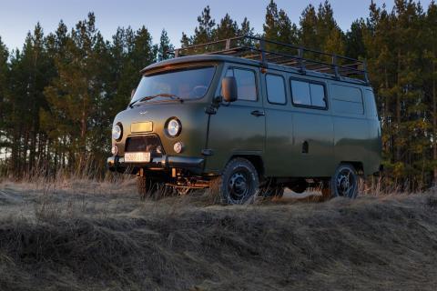 Первые изображения нового УАЗ-452 «Буханка» взорвали соцсети – УАЗ