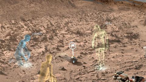 Видео «живого» Марса открыло глаза НАСА на бурную реальность Красной планеты