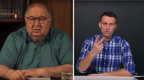 «Тьфу на тебя еще раз»: Алексей Навальный ответил на второе видео Алишера Усманова