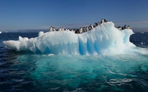 Ледники Антарктиды стремительно тают, превращаясь в реки, озера и водопады