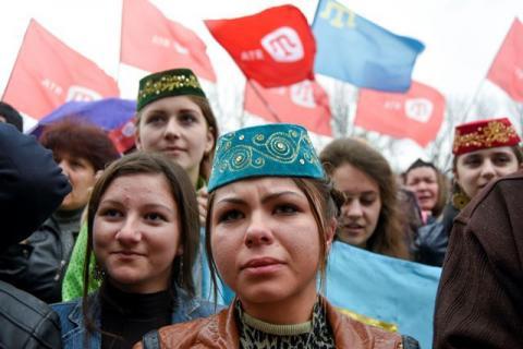 Опрос: 0% крымских татар ответили, что хотят переехать на Украину