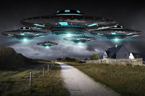В Уфе появились инопланетяне – очевидец