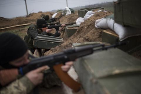 Бои в ДНР