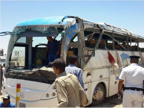 В Египте обстрелян автобус с христианами – 35 человек убиты, большинство - дети
