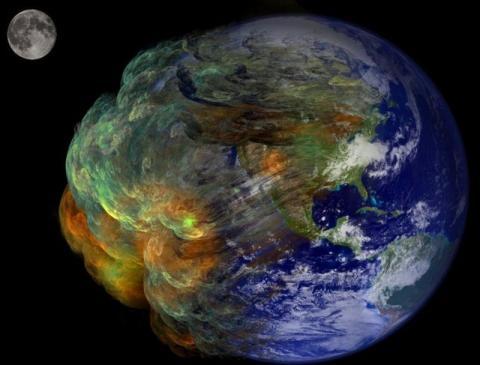 глобальное потепление заставит Землю вращаться быстрее