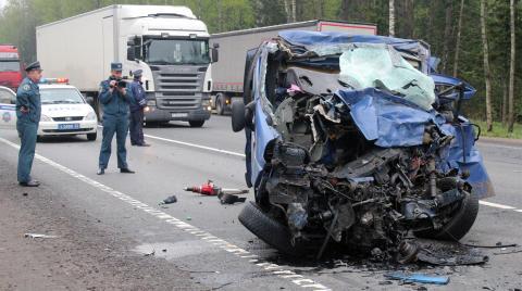 ДТП с украинцами в Великом Новгороде: 6 человек погибли
