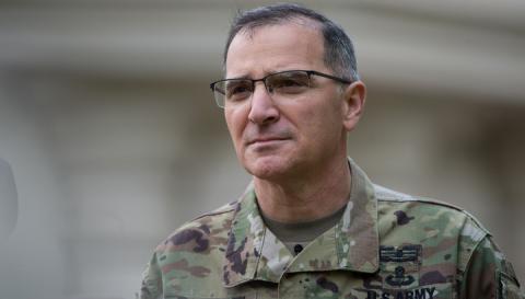 Командующий ВС США в Европе посетил зону конфликта в Донбассе