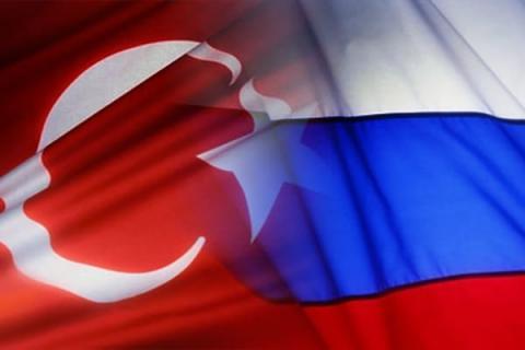 Флаги РФ и Турции