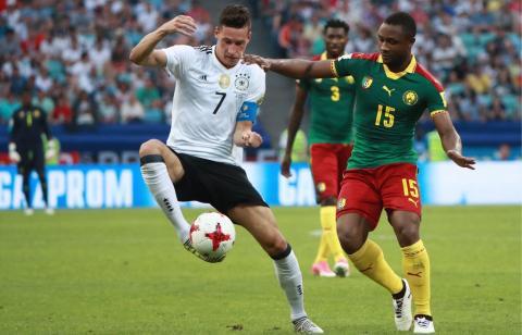 «Германия - Камерун» 25 июня 2017: обзор матча – голы, счет – видео лучших моментов