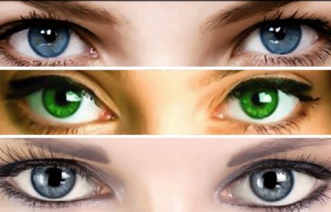 Цвет глаз определяет характер и любовные отношения