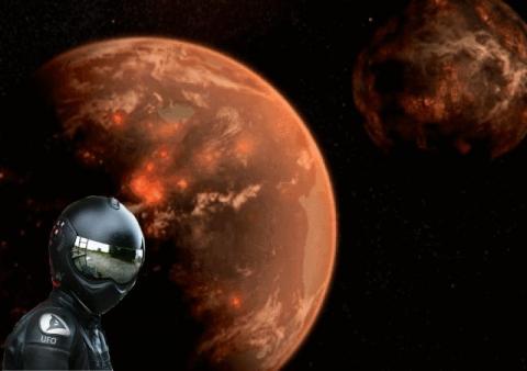 На Марсе появились разведчики с Нибиру – уфологи