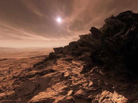 На Марсе обнаружены следы страшной катастрофы