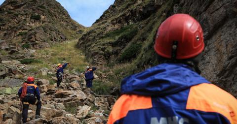 Четыре человека попали под камнепад в Кабардино-Балкарии