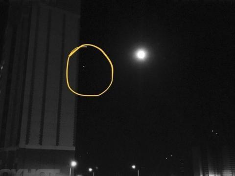 Странный светящийся объект в небе над Ростовом жители города приняли за визит пришельцев