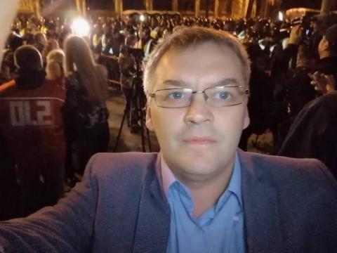 """Драка ведущего НТВ с украинцем в прямом эфире: в Сети опубликовано закулисное видео после """"рукопашной"""""""