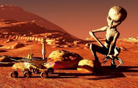 «Военное положение» на Марсе «выбивает почву из-под ног» угрожающим предупреждением НАСА