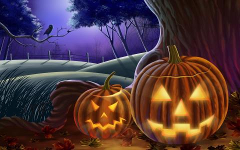 Хэллоуин 2018: картинки, оригинальные открытки, гифки, веселые поздравления