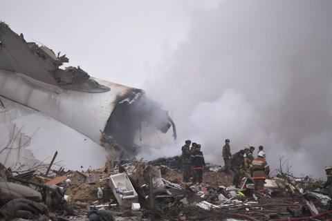Крушение самолета под Бишкеком