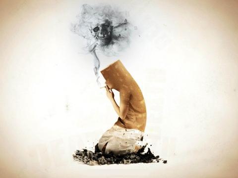Курение-смерть