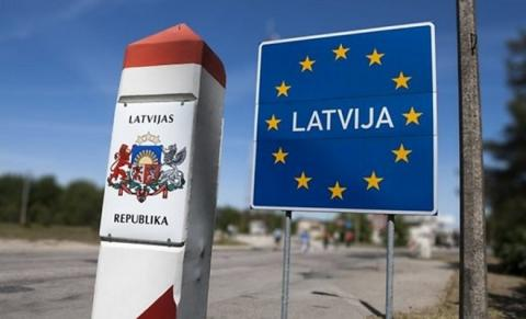 Латвия Россия