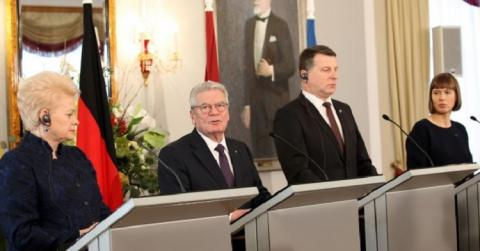 Президента Литвы, Латвии и Эстонии
