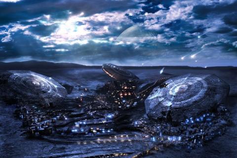Луна является полусферой, которая густонаселена высокотехнологичной цивилизацией, - заявили ученые
