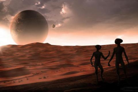 Уфологи нашли на Марсе древний инопланетный двигатель