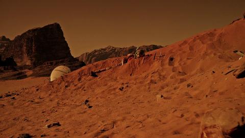На Марсе обнаружен странный инопланетянин