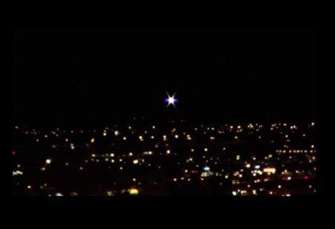НЛО над Лас-Вегасом