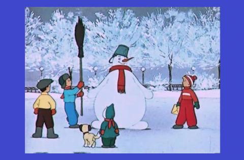 Мультфильмы про Новый год