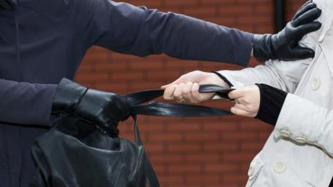 Ограбление женщины